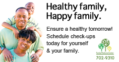 Prevention is better than cure: Call us today to schedule your health check-ups at Family Medicine Center