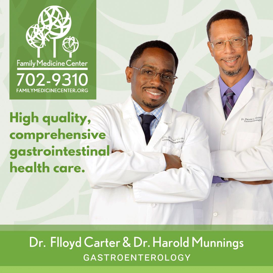 dr harold munnings and dr flloyd carter